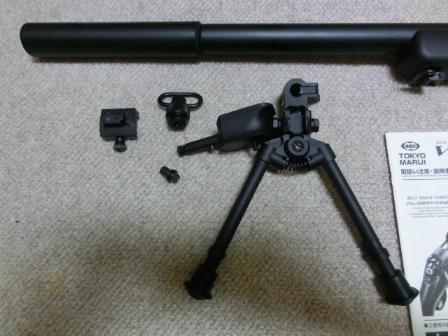 東京マルイ VSR-10 Gスペック プロスコープ タクティカルバイポッド付_画像2