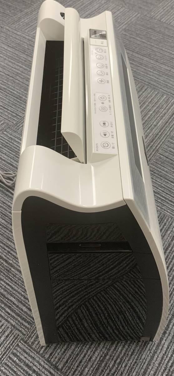 動作品 シャープ SHARP 加湿空気清浄機 プラズマクラスター25000 プレミアムモデル ホワイト KI-EX75-W 空気清浄機 加湿器 2014年製_画像3