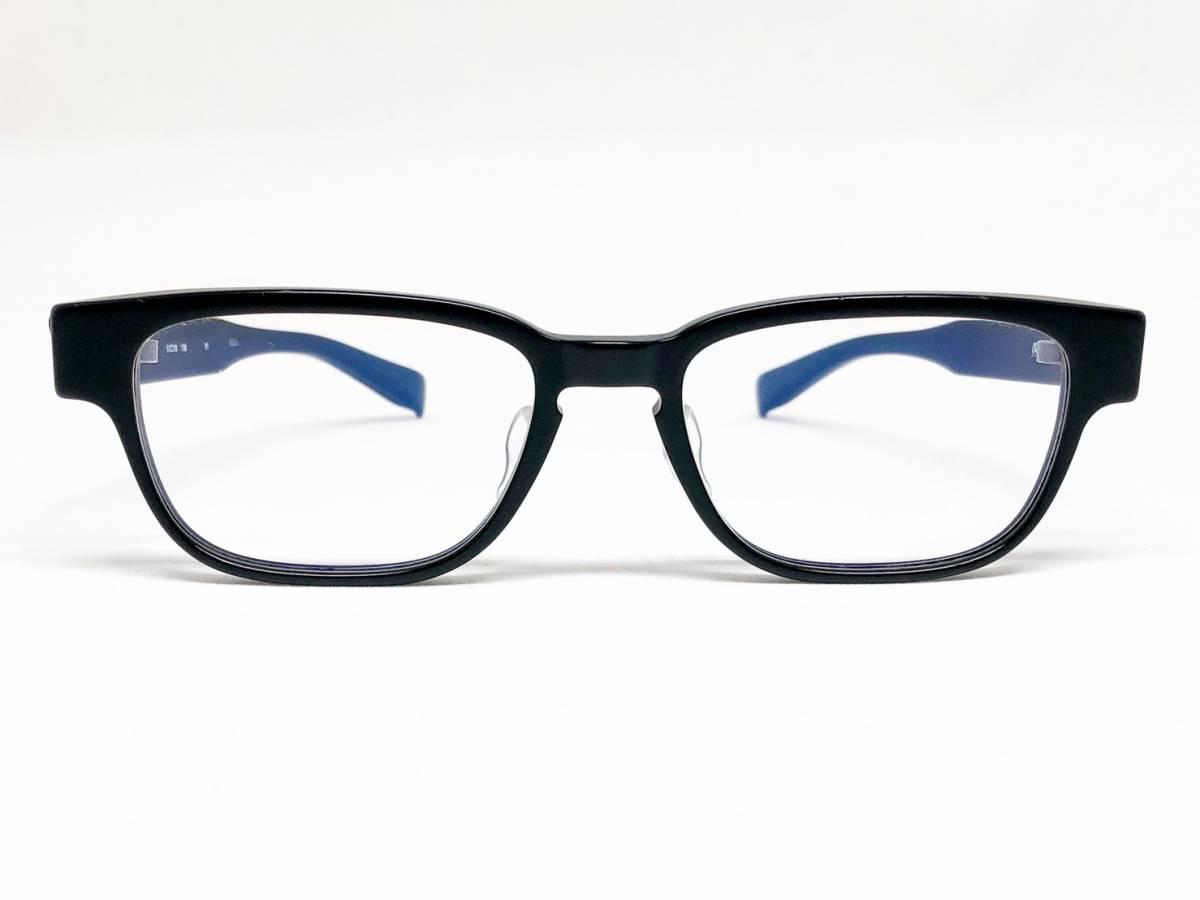 希少《 完売 / NP-66 》極上品【 999.9 フォーナインズ Col.91 マットブラック ウェリントン ネオプラスチック 眼鏡 日本製 】
