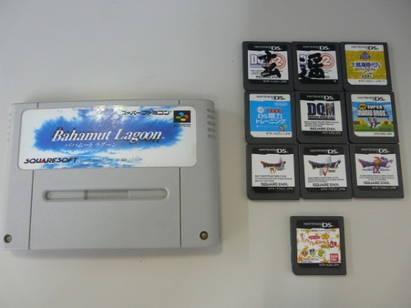 GAME ゲーム YAMADA SPECIAL PACK for Newニンテンドー3DS ニンテンドーDS lite 2体 DSソフト10本 SFCソフト1本 その他セット_画像8