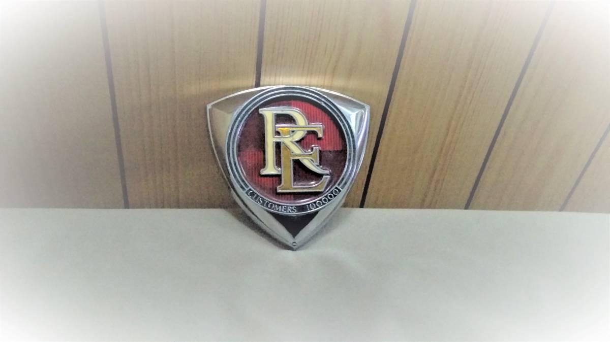 希少 マツダ ロータリー RE 100000カスタマーズ エンブレム (FD3S FC3S SA22C RX-7 RX-3 RX-2 サバンナ ルーチェ コスモ マツダスピード)