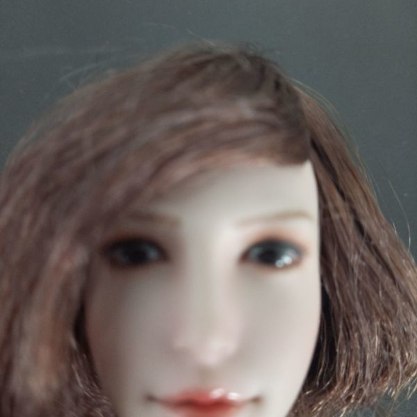 ※新品1/6 フィギュア 美人女性 ヘッド 頭美少女 萌え萌える かわいい アジア新商品TBLeague対応(ヘッドのみ、素体無し第34弾(T2811)_画像8