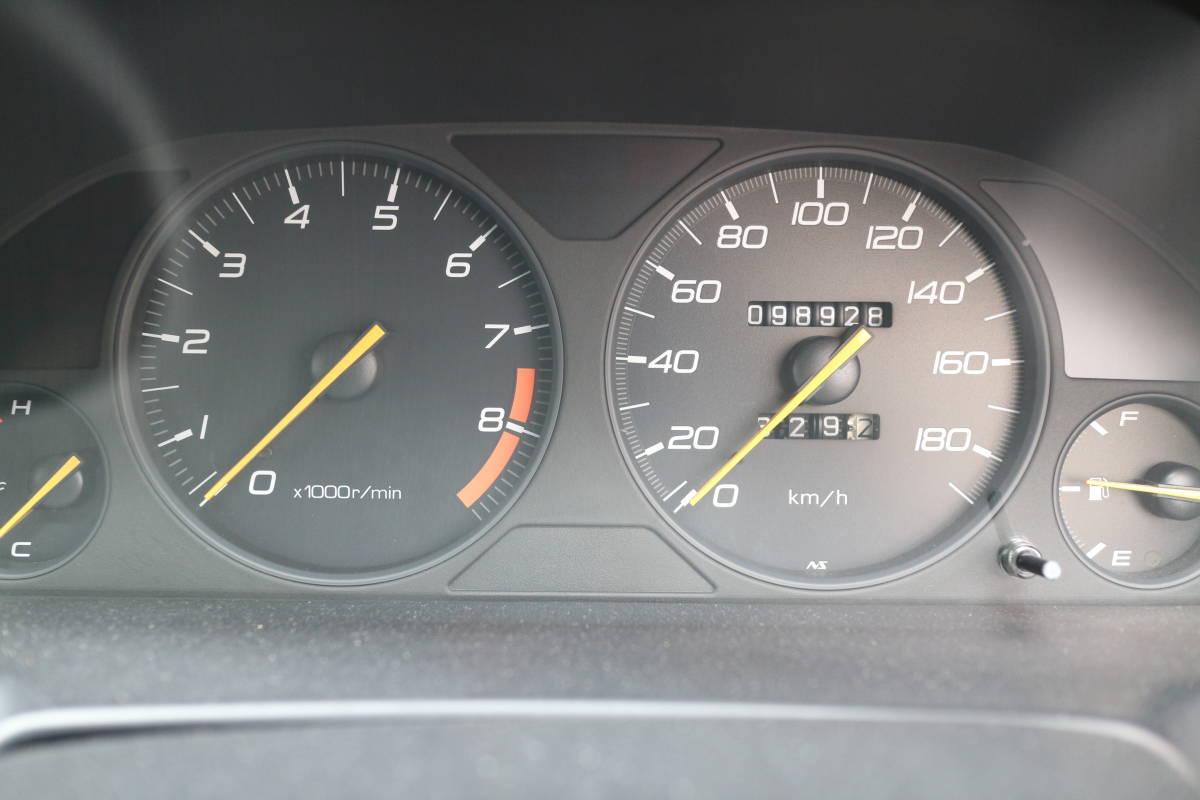 大阪発 希少5速 BB6 プレリュード TYPE S VTEC H9年式 ハーフレザーシート PIAA ホイール フジツボ マフラー MOMO ステアリング _画像10
