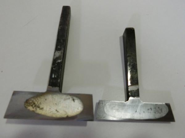 ◆五徳鉋 かんな 大工さん使用 刃幅 61mm 中古 現状渡し