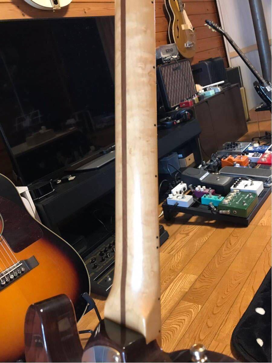 送料無料 希少限定品 Fender USA/Select Thinline Telecaster Gold Hardware Violin Burst/Maple 中古_画像5