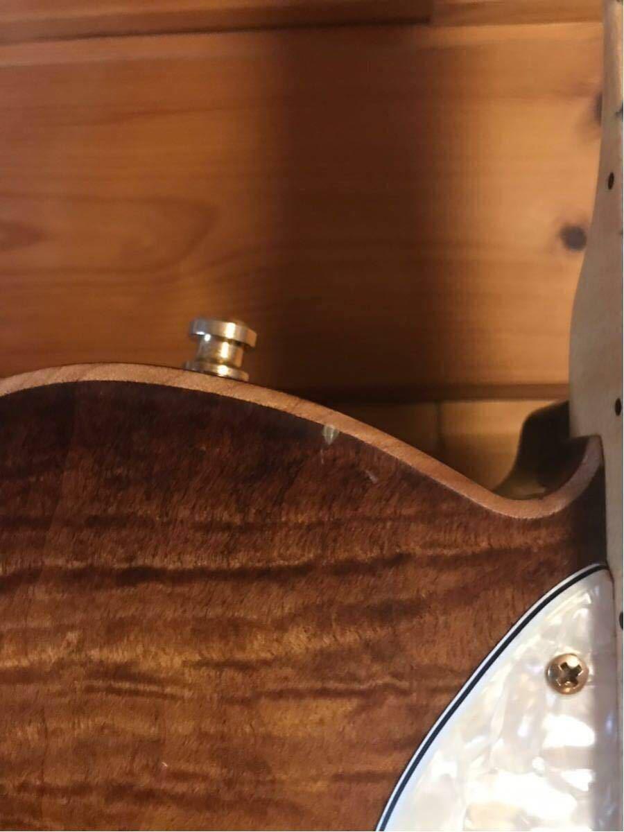 送料無料 希少限定品 Fender USA/Select Thinline Telecaster Gold Hardware Violin Burst/Maple 中古_画像6