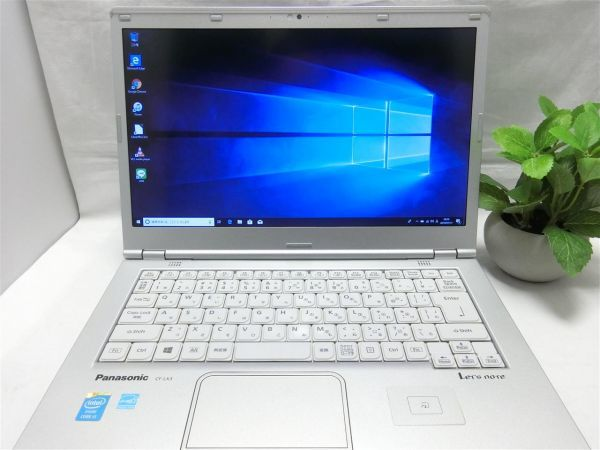 持ち運びに便利・薄型【SSD搭載】Panasonic Let's note CF-LX3 CF-LX3YD1CS/Core i5/8GB/128GB SSD/最新Windows10/Office/PC01543_画像2