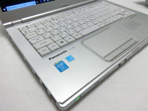 持ち運びに便利・薄型【SSD搭載】Panasonic Let's note CF-LX3 CF-LX3YD1CS/Core i5/8GB/128GB SSD/最新Windows10/Office/PC01543_画像3