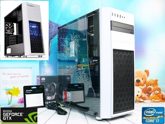 ◇究極Core i7◆グラボ搭載ハイスペックPC■i7-3770×8スレッド ターボ3.9GHz(最大)/RAM8GB/GTX660 2G/新品SSD 240GB+HDD 2TB/Windows10