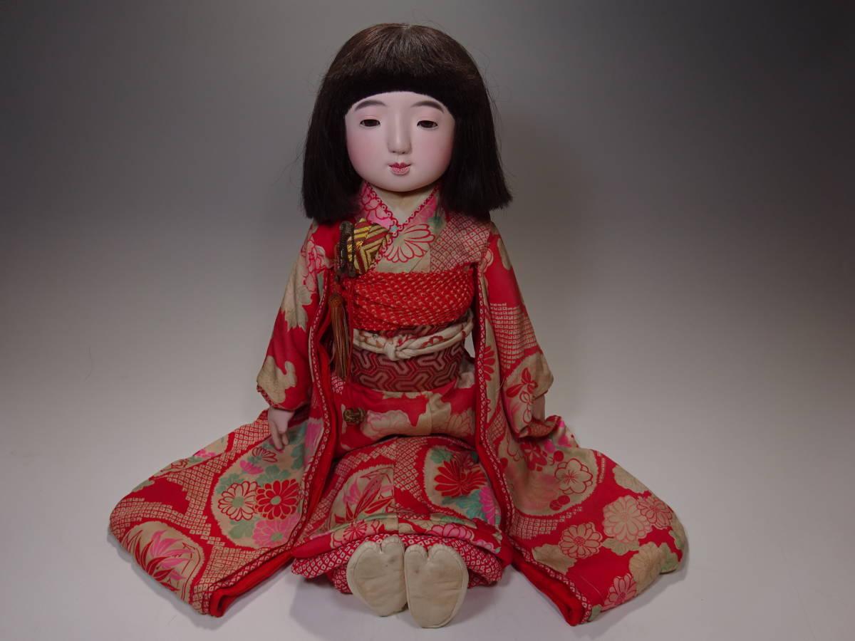 可愛い市松人形 50㎝_画像2