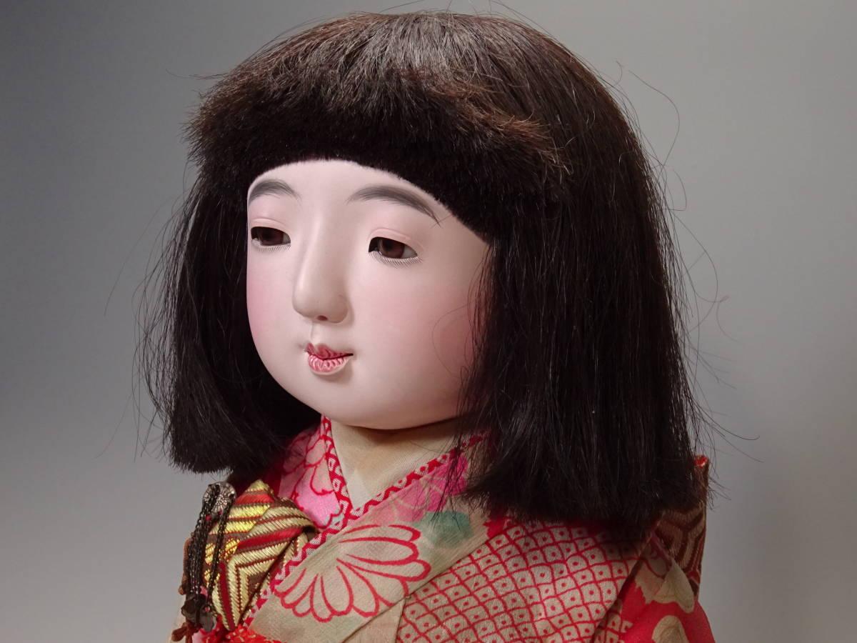 可愛い市松人形 50㎝_画像7