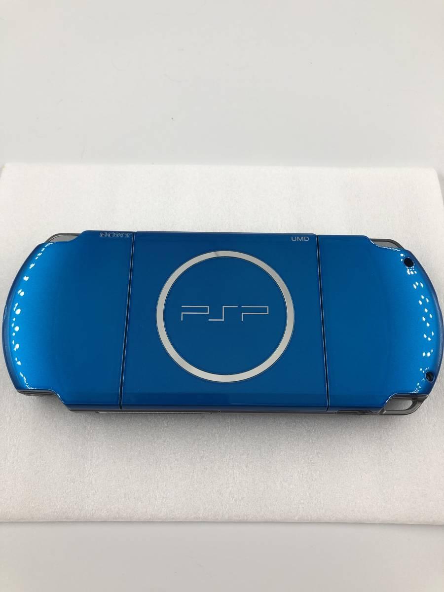 ★新品同様 完品★ PSP-3000 バイブラント・ブルー (PSP-3000VB) 動作保証あり_画像4