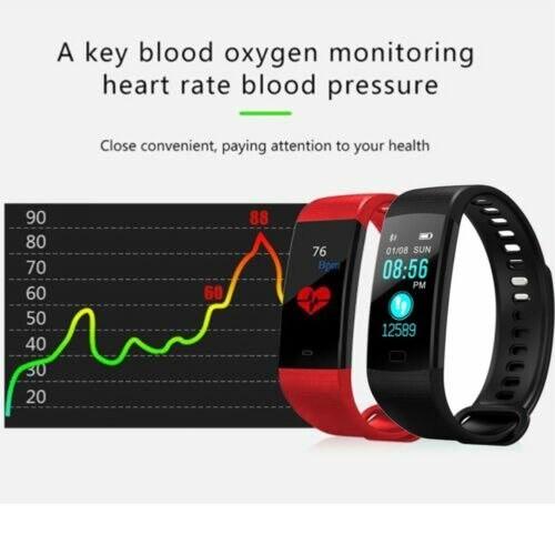 スマートウォッチ☆  多機能 ☆健康管理・ダイエットに 有効★血圧  心拍 歩数計 ☆ iOS/Android IP67防水_画像4