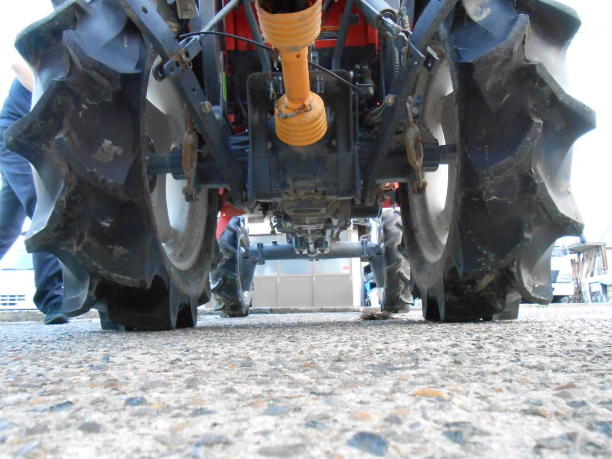 京都◇実動! クボタ トラクター T240D 24馬力 ロータリー付 RL141T 自動水平モンロー 4WD 24PS 引取ok陸送OK 最落無_画像5