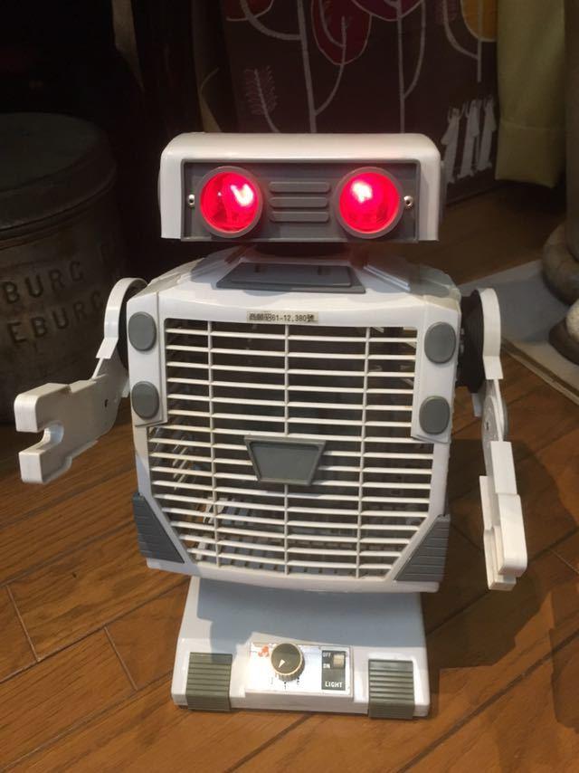 ロボット 扇風機 当時物 スペースエイジ イームズ _画像6