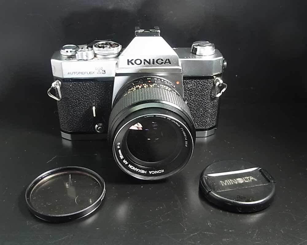 昭和レトロ(1973年)…コニカ KONICA AUTOREFLEX T3 830014‥カメラ