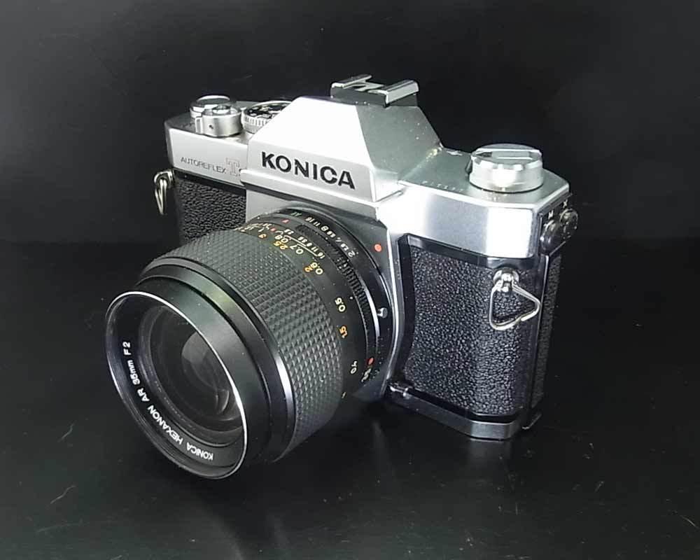 昭和レトロ(1973年)…コニカ KONICA AUTOREFLEX T3 830014‥カメラ_画像3