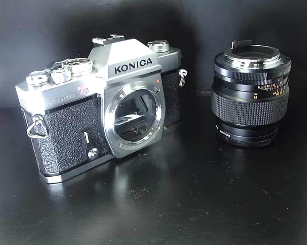 昭和レトロ(1973年)…コニカ KONICA AUTOREFLEX T3 830014‥カメラ_画像6