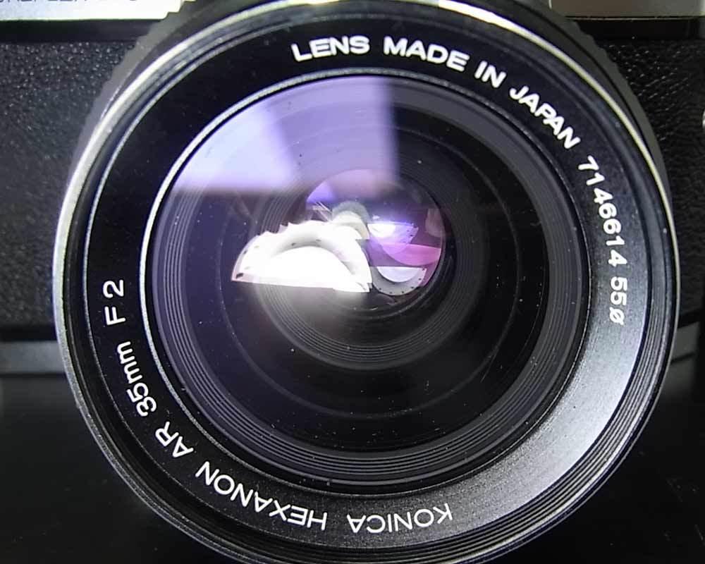 昭和レトロ(1973年)…コニカ KONICA AUTOREFLEX T3 830014‥カメラ_画像7
