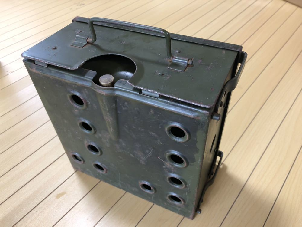 British ARMY (ブリティッシュ アーミー) Cooker (クッカー) No.2 箱ストーブ 英国軍 ヴィンテージ ミリタリー_画像4