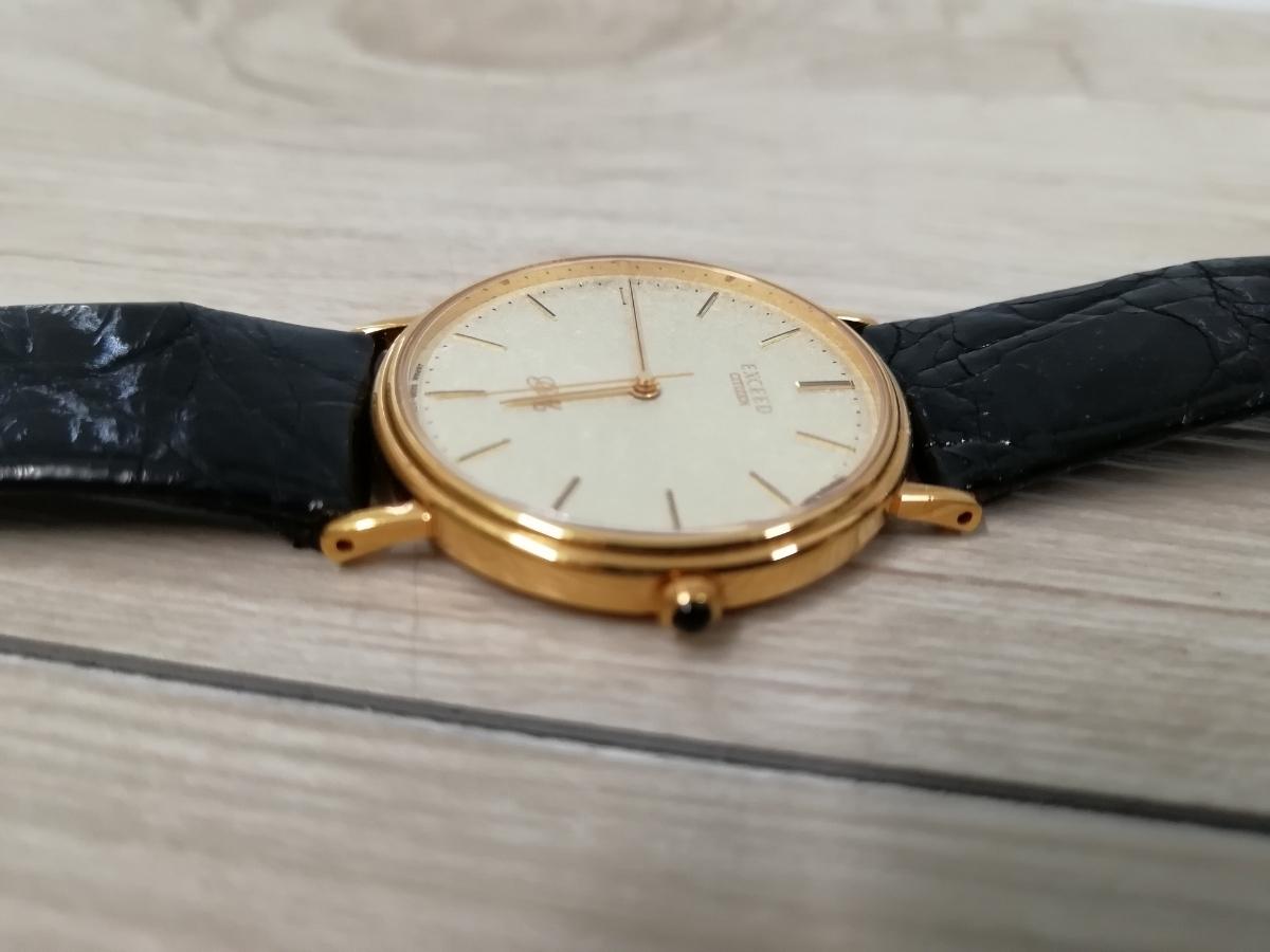 CITIZEN シチズン EXCEED エクシード 腕時計 GOLD 18K 750 0330-C30455-TA アンティーク_画像2
