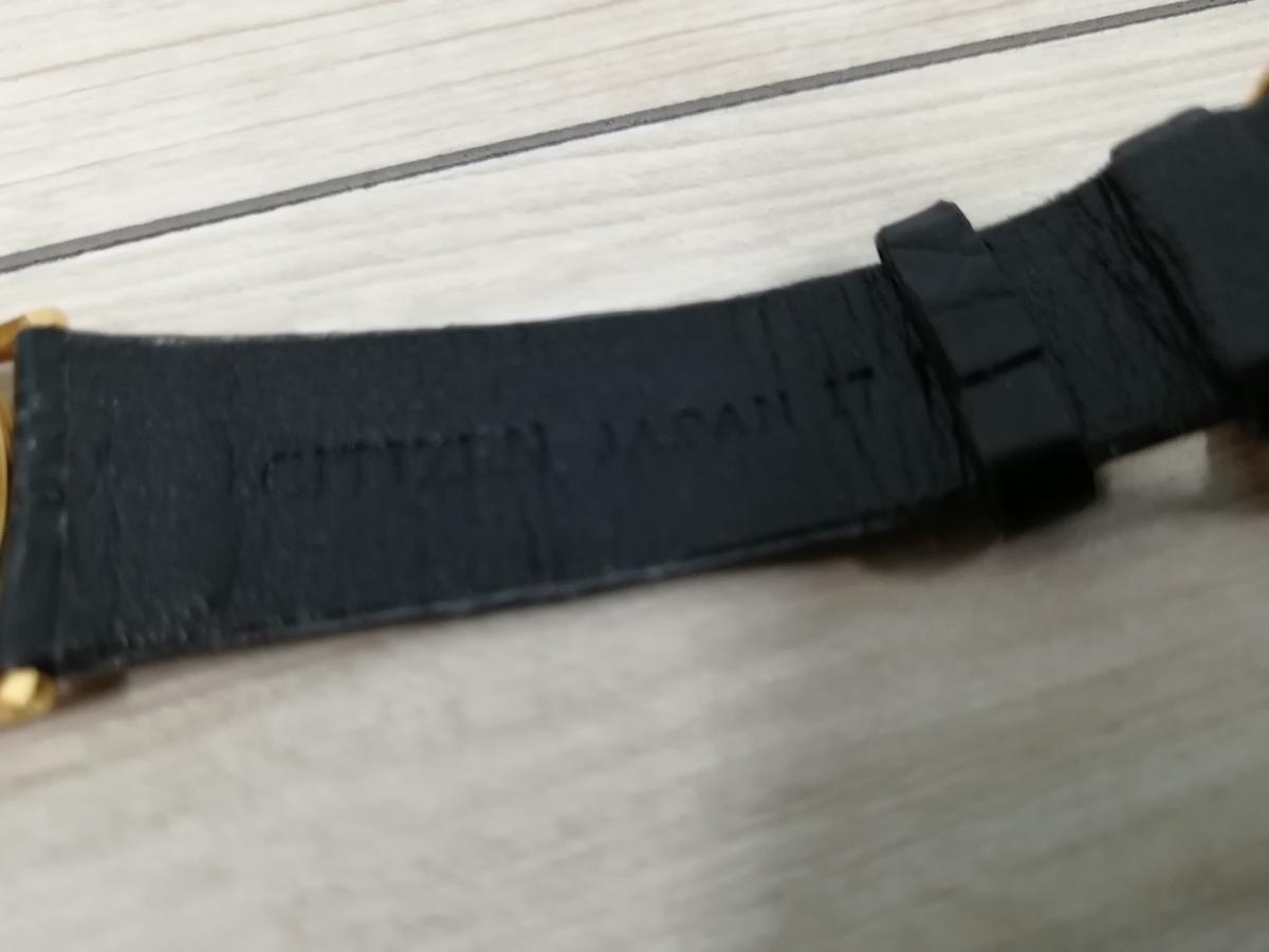 CITIZEN シチズン EXCEED エクシード 腕時計 GOLD 18K 750 0330-C30455-TA アンティーク_画像6