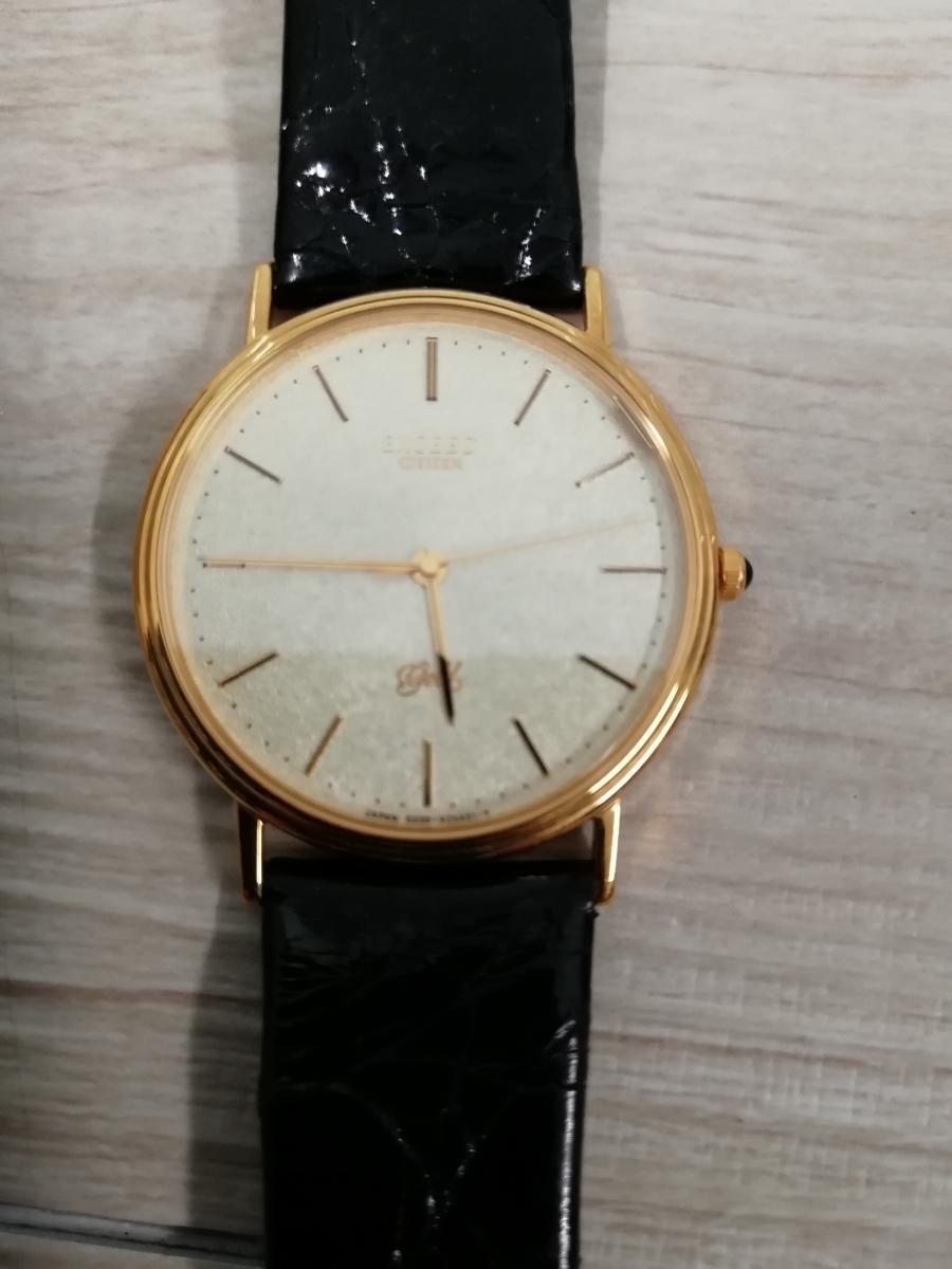 CITIZEN シチズン EXCEED エクシード 腕時計 GOLD 18K 750 0330-C30455-TA アンティーク