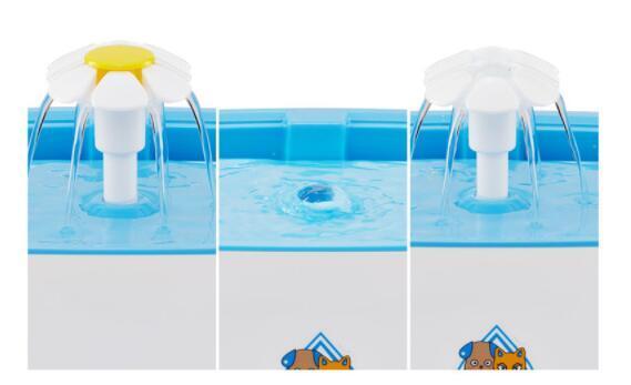 04D070 ペット用品 犬 猫 自動 ループ 出水機 水 水を飲む用 ミュート 2.5L 900g_画像5