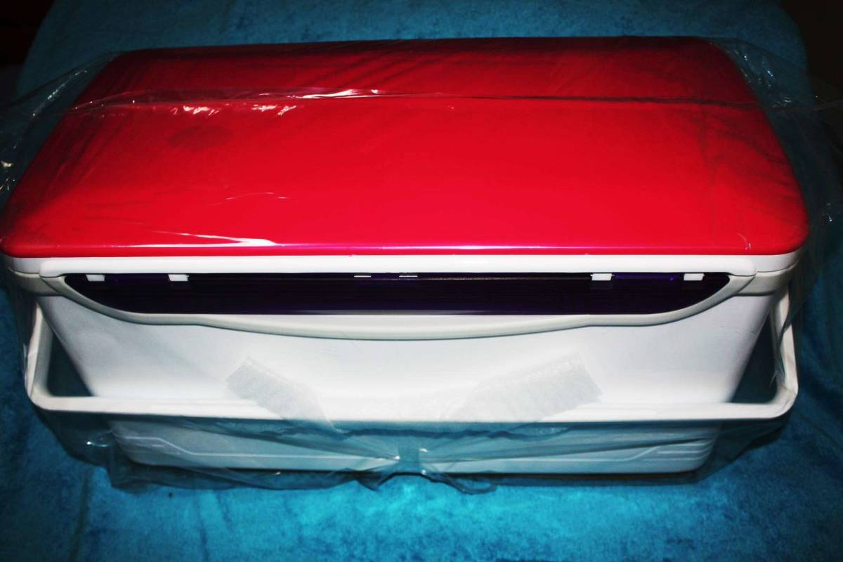 ダイワ クーラーボックス LIGHT TRUNK Ⅳ S 3000 RJ マゼンタ 500円から売り切ります。_画像5