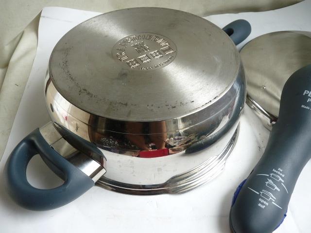 良品◆WMF ヴェーエムエフ ドイツ製 パーフェクトプラス Perfect plus 圧力鍋 _画像7
