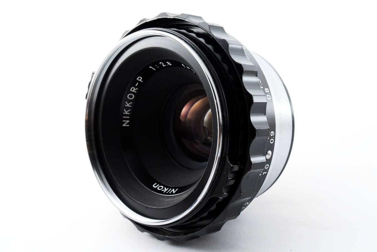 ★美品★ゼンザブロニカ Zenza Bronica EC Medium Format w Nikkor P 75mm f2.8 #460318_画像9