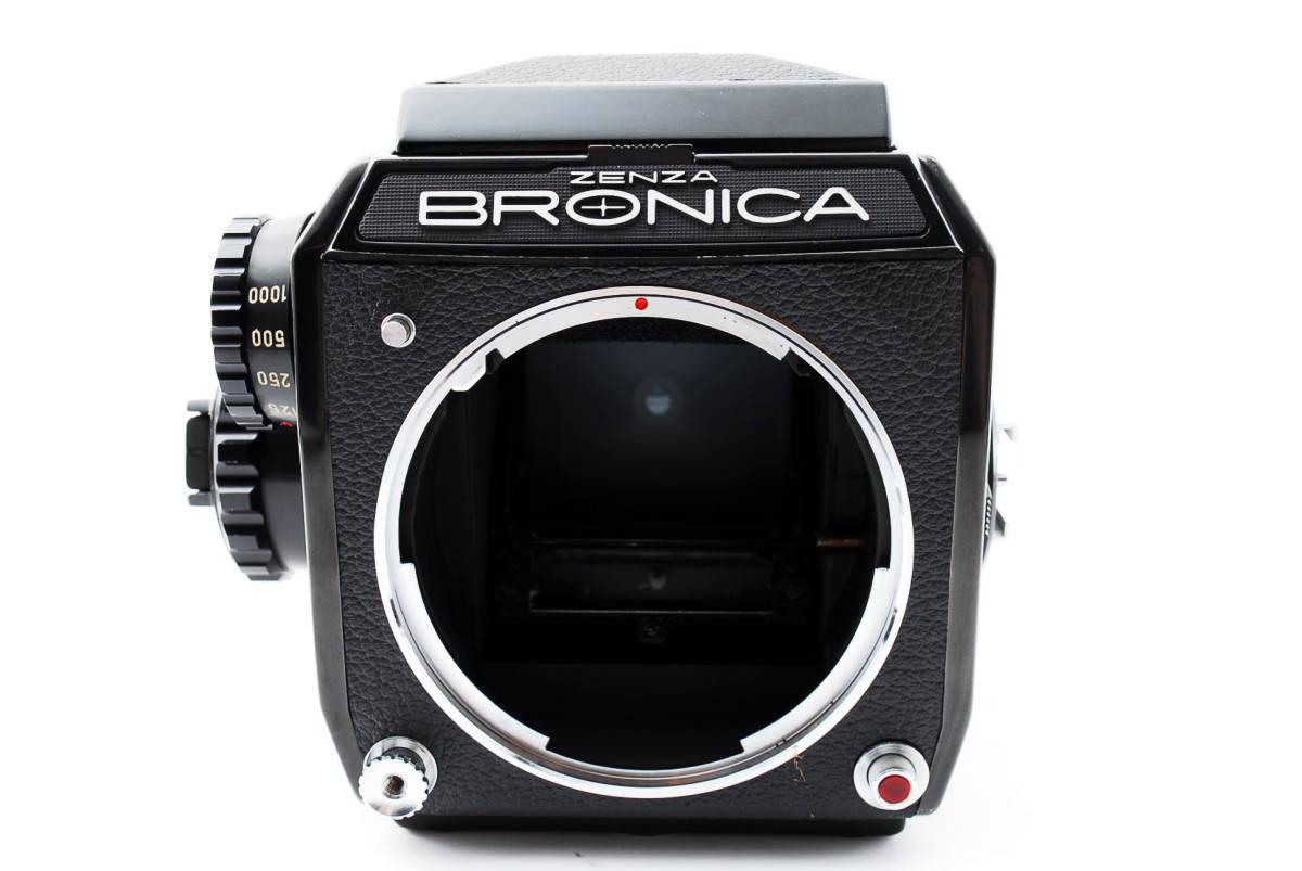 ★美品★ゼンザブロニカ Zenza Bronica EC Medium Format w Nikkor P 75mm f2.8 #460318_画像3