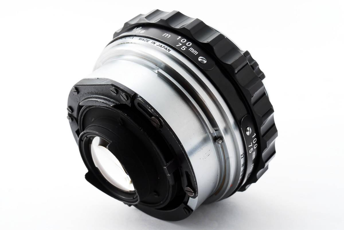 ★美品★ゼンザブロニカ Zenza Bronica EC Medium Format w Nikkor P 75mm f2.8 #460318_画像10