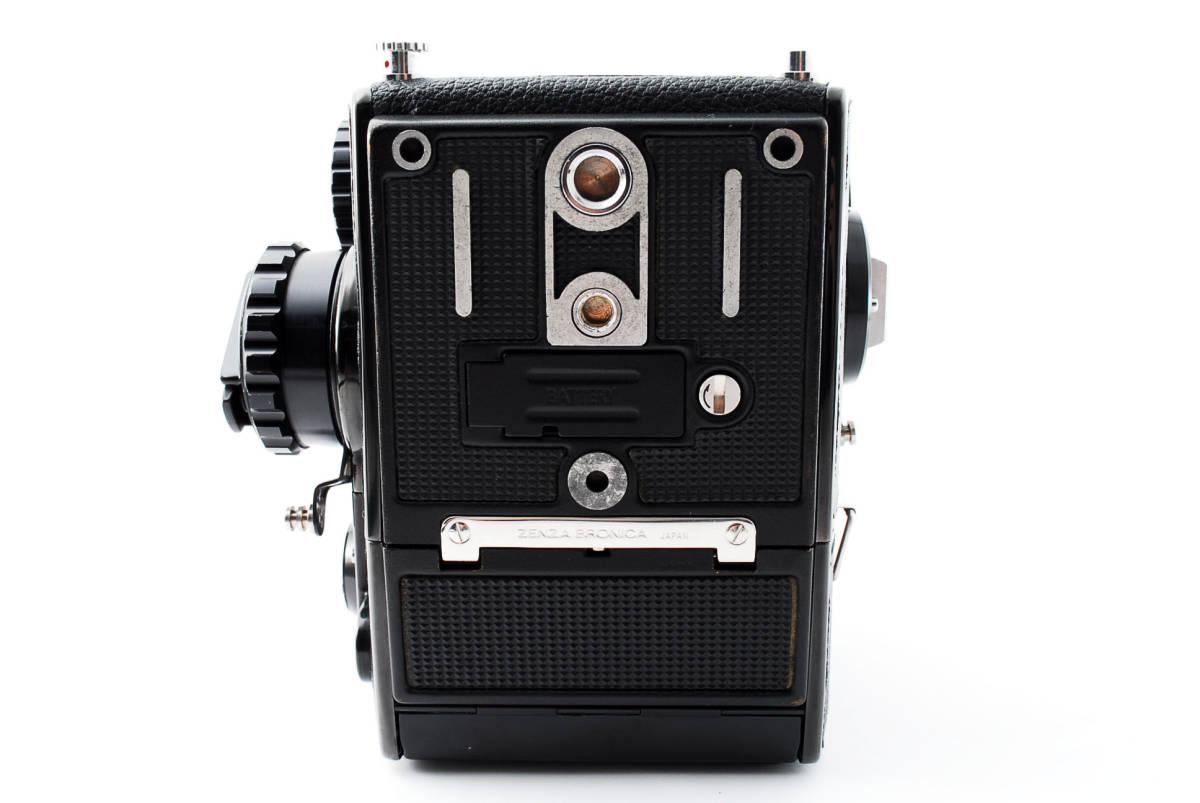 ★美品★ゼンザブロニカ Zenza Bronica EC Medium Format w Nikkor P 75mm f2.8 #460318_画像7