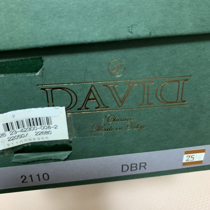 DAVID ジップアップブーツ 25.5㎝ 新品未使用品_画像5