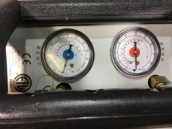 Asada エコセーバー R50 冷媒回収機 24L回収ボンベ まとめて フルオロカーボン回収装置 エアコンガス回収 フロン回収機 即日配送_画像3