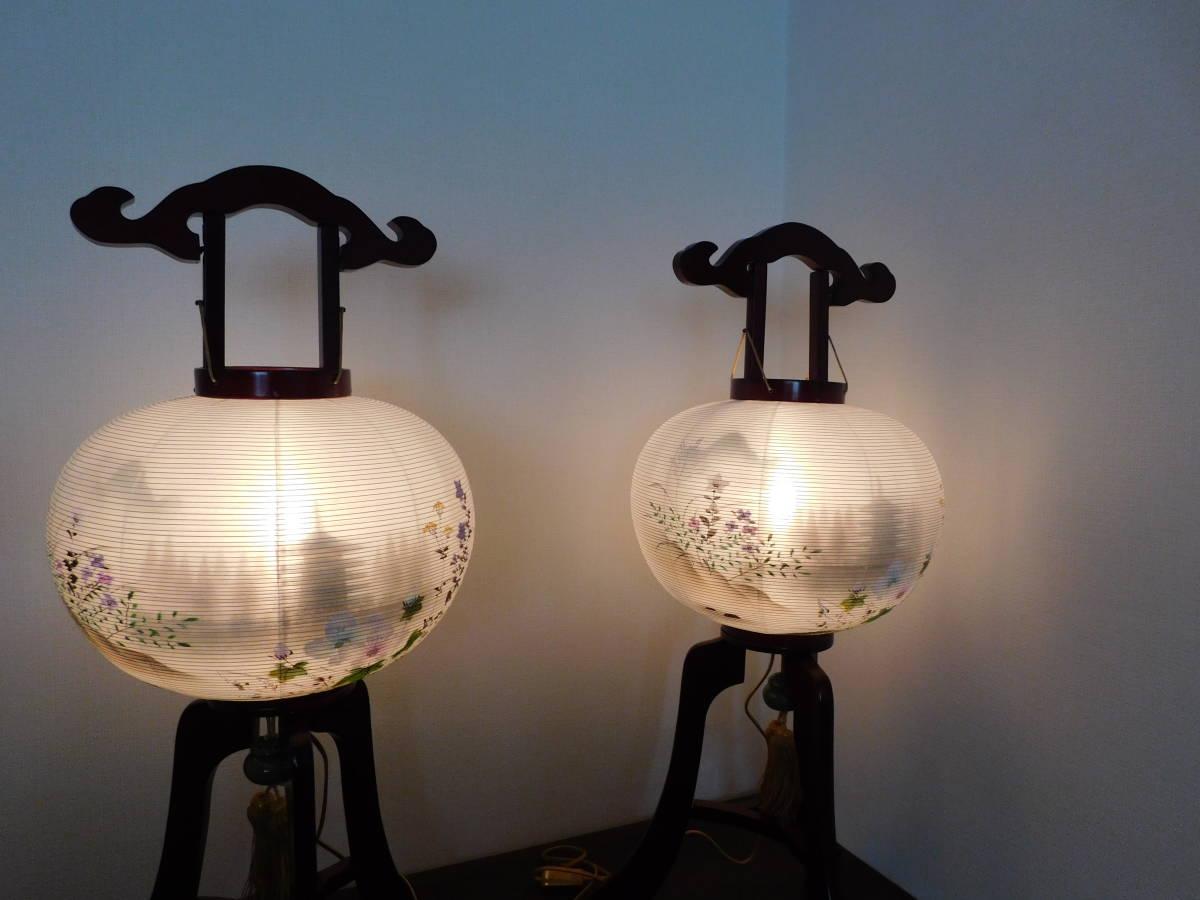 盆提灯 二重 五重の塔 絹 総桜 12号 電装ワンタッチ4_画像4