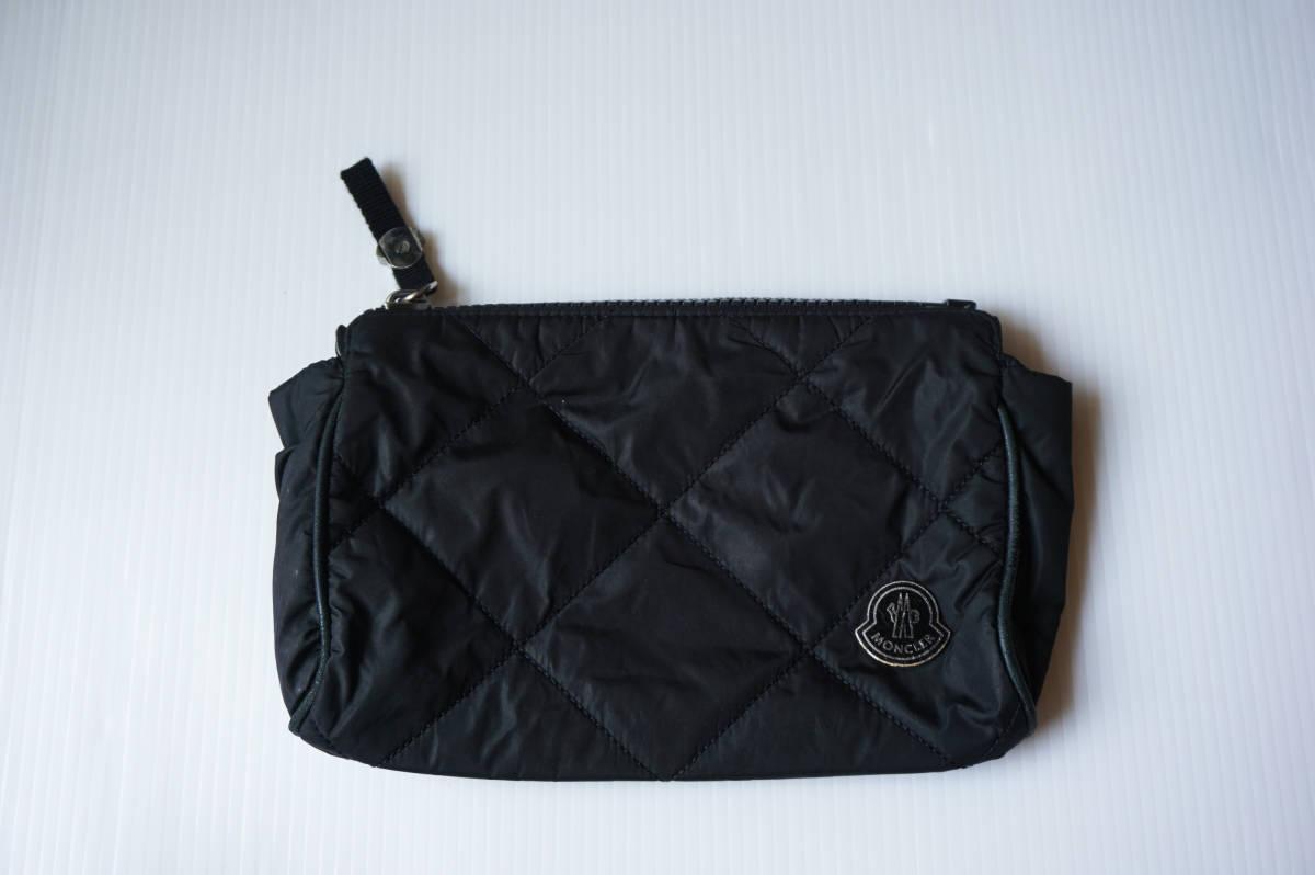 正規品 モンクレール 小物入れ/バッグ QR認証タグ付(管理番号G23)