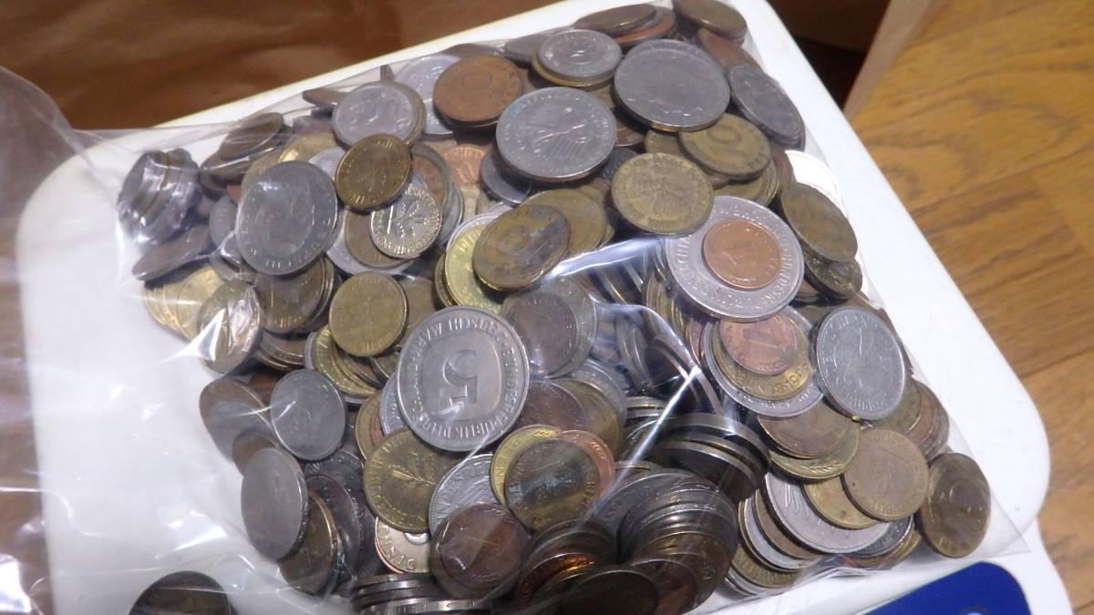 外国コイン ドイツのコイン 約2,38kg_画像6