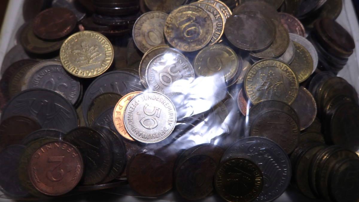 外国コイン ドイツのコイン 約2,38kg_画像3