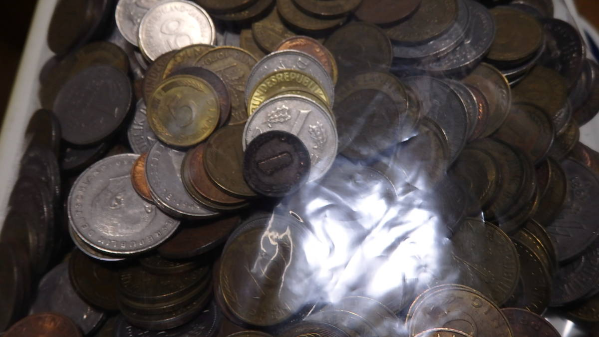 外国コイン ドイツのコイン 約2,38kg_画像4