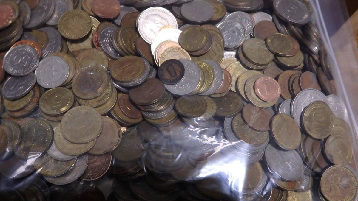 外国コイン ドイツのコイン 約2,38kg_画像2