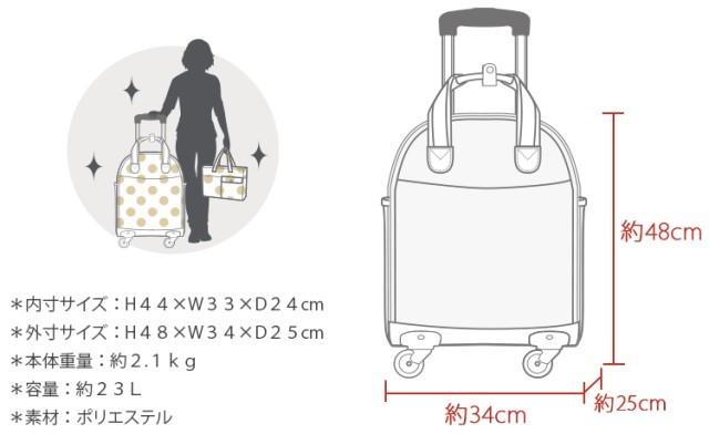 1円スタート!新品 未使用 ソフト キャリーバッグ 旅行かばん スーツケース 機内持ち込み 小型 超軽量 4輪 かわいい シフレ ハピタス 黒 SS_画像6