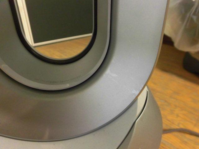 良品 ダイソン ピュア ホット&クール Dyson Pure Hot&Cool HP00 WS 空気清浄器付 扇風機 _画像4