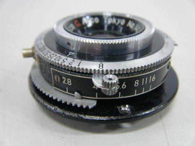 1る32★フィルムカメラ用カメラレンズ SEIKOSHA-RAPID アルコ Colinar 1:2.8 F=5cm C.Arco Tokyo レンジファインダー_画像4