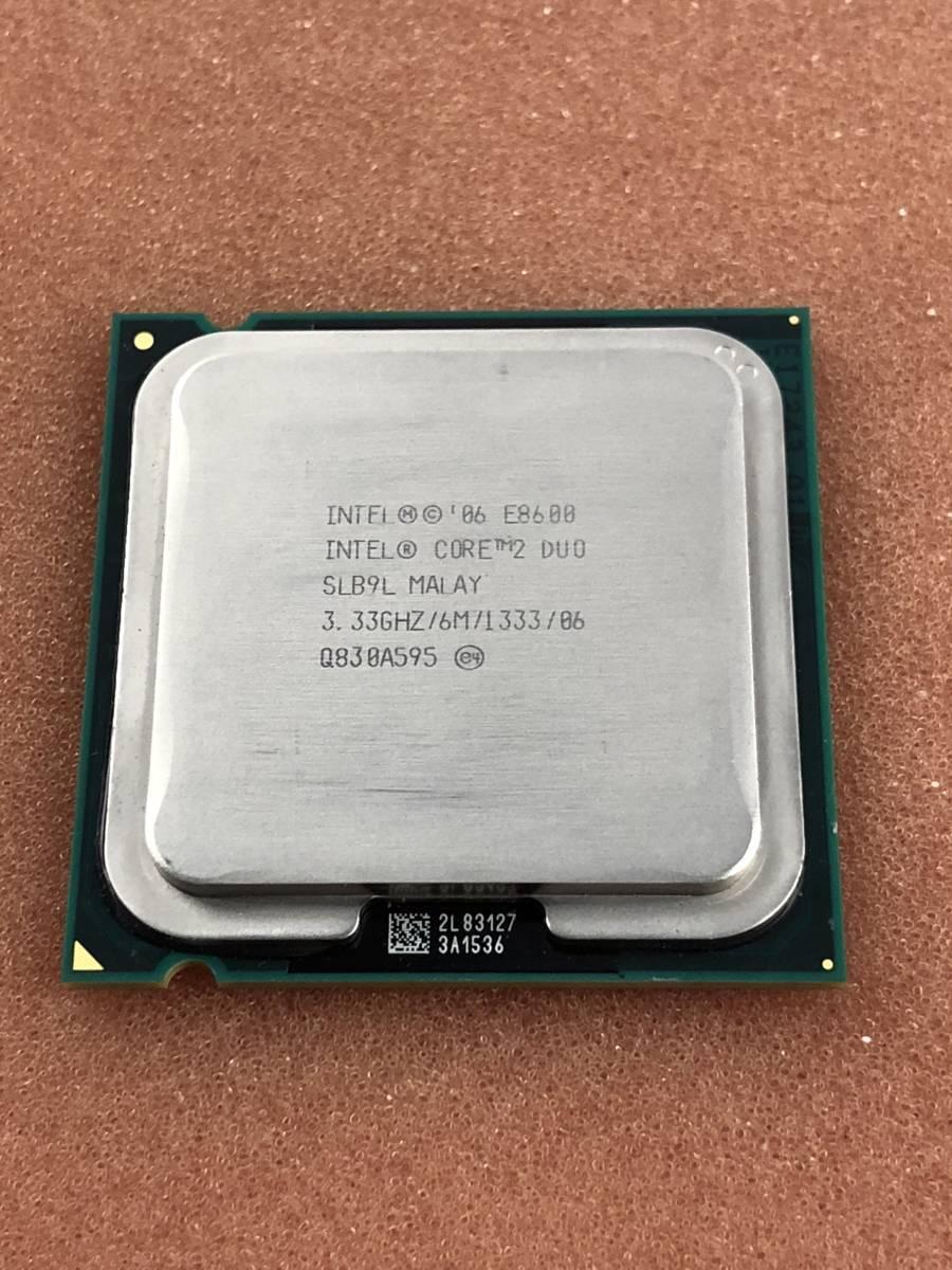 【中古パーツ】【CPU】INTEL Core2 Duo E8600 3.33GHz SLB9L