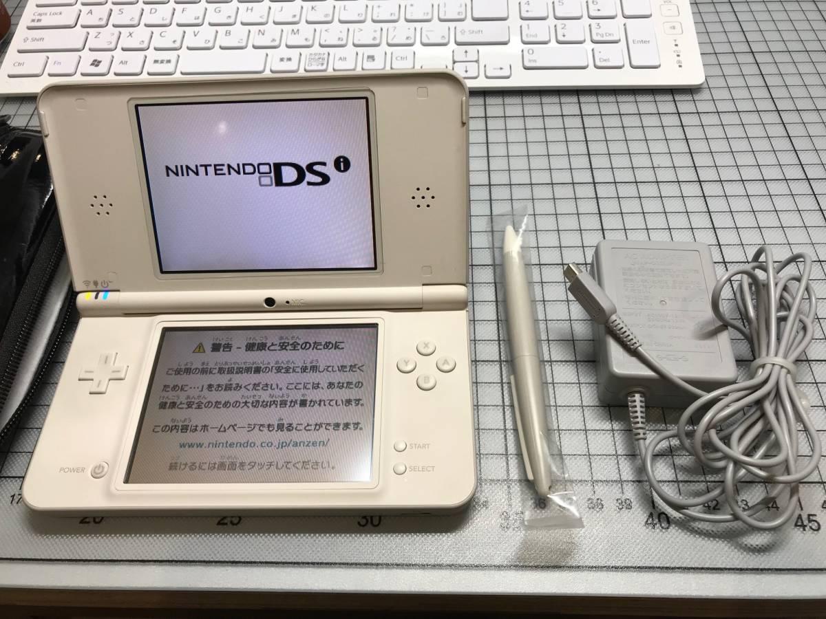 稼働品美品 任天堂 DSi LL ホワイト系