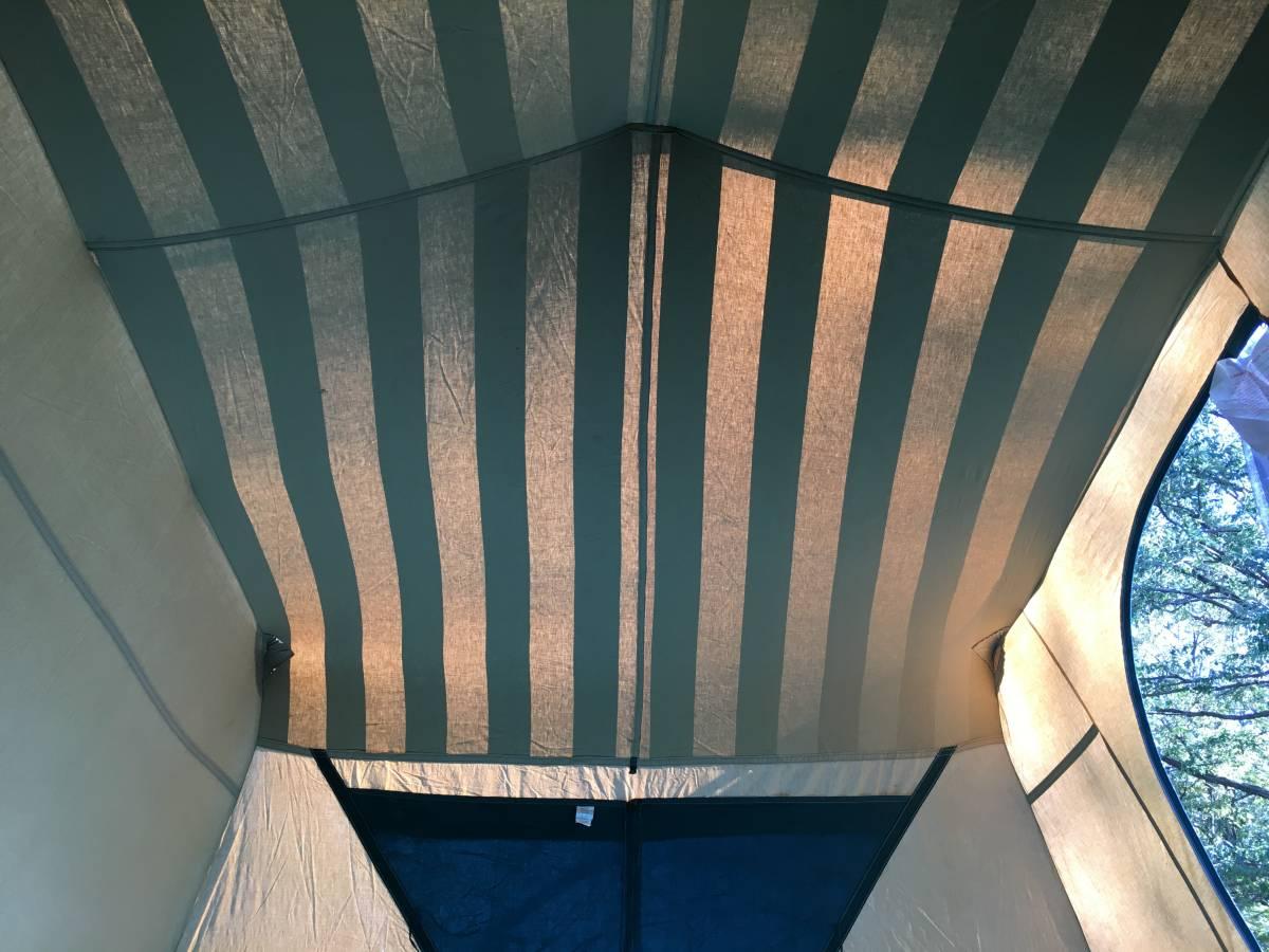 ビンテージ シアーズ コテージ キャンバス テント 13x10 ルーフコットン コールマン 快適tent_画像10