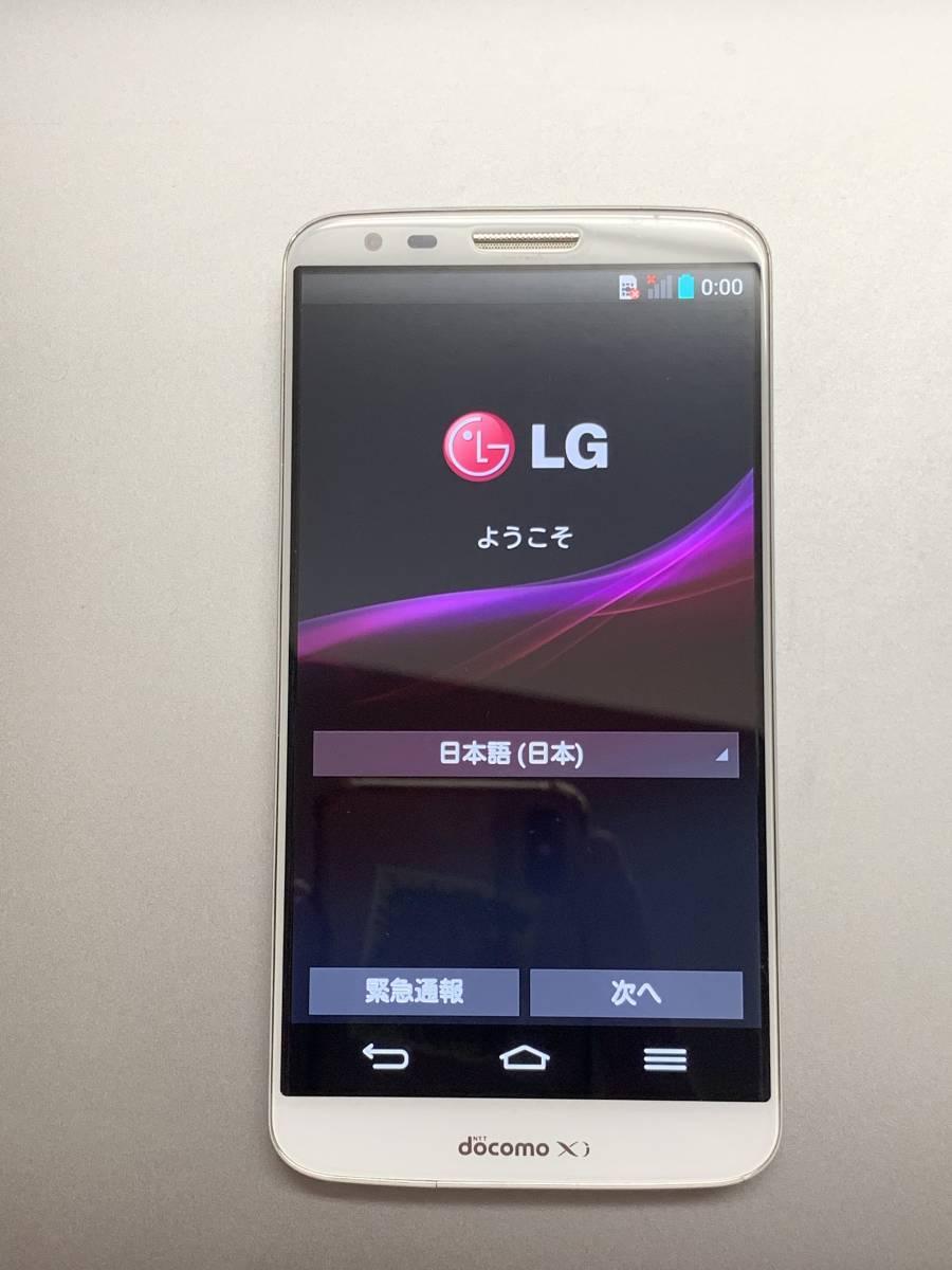 LG L-01F DOCOMO WHITE 中古