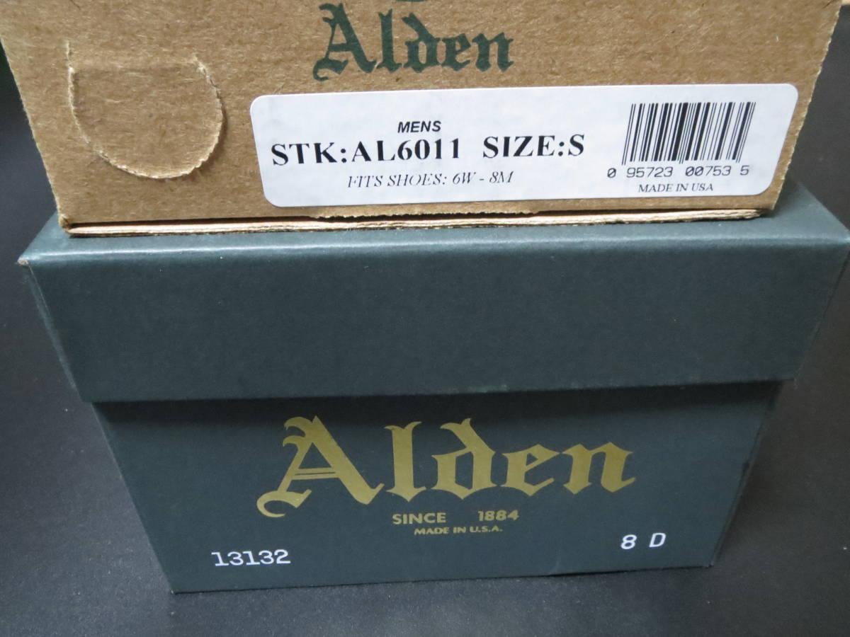 【新品】ALDEN 13132 CIGAR CORDOVAN オールデン レアカラー コードバン シガー ラベロ ウィスキー_画像10